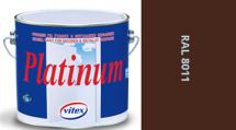 Vitex Platinum satén RAL 8011 0,75L